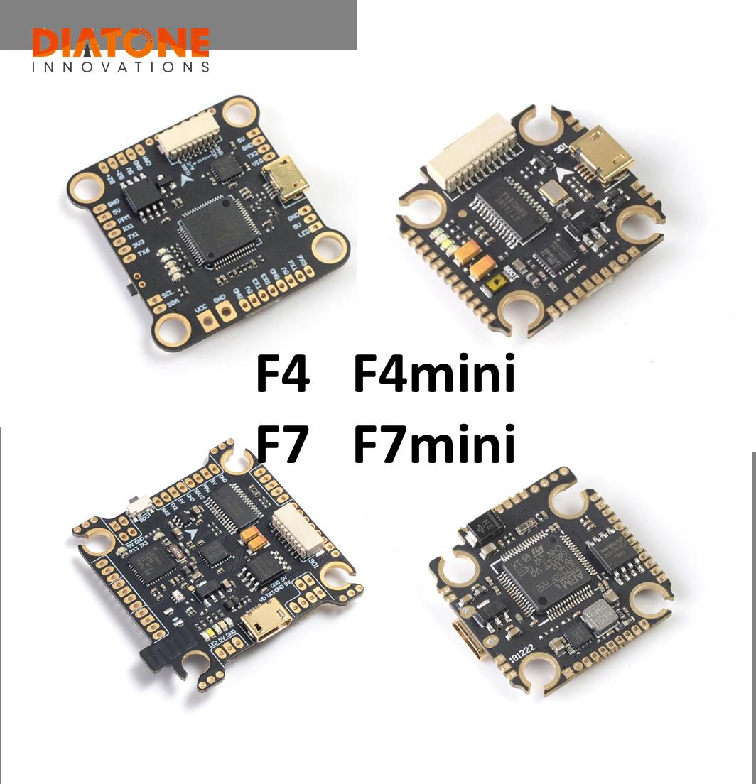 Diatone Mamba Fury F405 F7 Mini Flight Controller Betaflight STM32 MPU6000 OSD Built-in 5V/2A BEC F4 RC Models Multicopter Accs