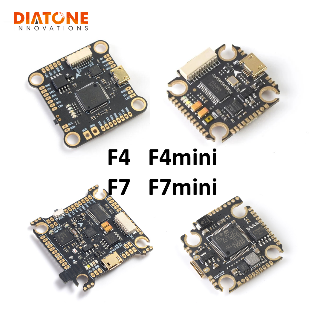 Diatone <font><b>Mamba</b></font> Fury <font><b>F405</b></font> F7 <font><b>mini</b></font> Flight Controller Betaflight STM32 MPU6000 OSD Built-in 5V/2A BEC F4 RC Models Multicopter Accs image