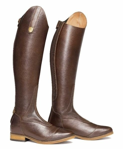 Women's Smooth Leather Horseback Riding Knee High Boots 3