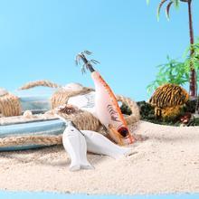 Джиги жесткая приманка для рыбалки креветки Приманка снасти Крючки для морской рыбалки аксессуары Мульти соединенная Swimbait жесткая искусственная приманка