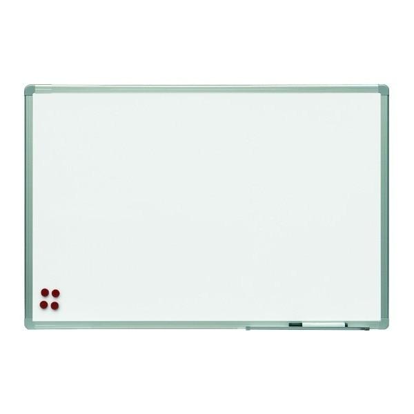SLATE WHITE LACQUER MAGNETIC 45x60cm PROFILE ALUMINUM