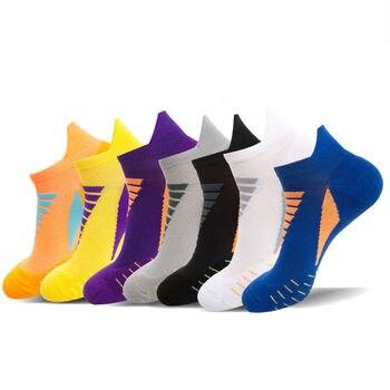 3 pairs/lot Quality Sports socks men women mountaineering running thin spring summer sweat absorption basketball
