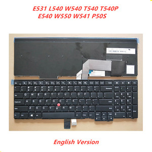 Laptop English Keyboard For LENOVO IBM E531 L540 W540 T540 T540P E540 W550 W541 P50S Notebook Palmrest Cover Upper Cover(China)