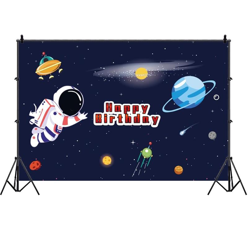 Задний фон для фотосъемки с изображением космоса планета баннер