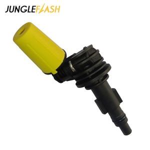 Image 5 - JUNGLEFLASH 360° Gimbaled Spin Washer Nozzles High Pressure Cleaner Tips Fit For Lavor For Karcher Nozzle K2 K7