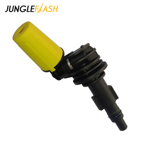 Image 5 - Rotating Dirt Shock Turbo Nozzle 360° Gimbaled Spin High Pressure Cleaner Spray Nozzle Tips Fit For Karcher Trigger Guns