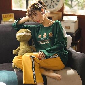 Image 5 - JRMISSLI pyjama נשים קצר סקסי פיג מה נשים הלבשת סט קיץ הלבשה תחתונה פיג מה בית ללבוש כותנה פיג מה פיג מה mujer חליפה