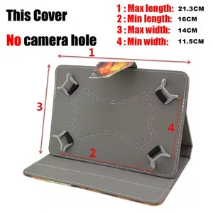 Image 2 - UNIVERSAL Cover For 6/6.8/7.8 inch eBook Reader Case for 7/7.85/7.9/8 inch Tablet GPS Fundas Capa NO CAMERA HOLE