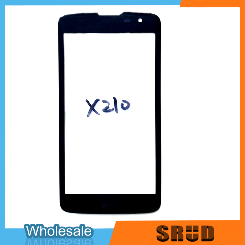 Outer <font><b>Glass</b></font> LCD Display Front Lens For <font><b>LG</b></font> <font><b>K7</b></font> X210 <font><b>X210DS</b></font> MS330 Outer <font><b>Glass</b></font> With OCA Laminate Cover Replacement image