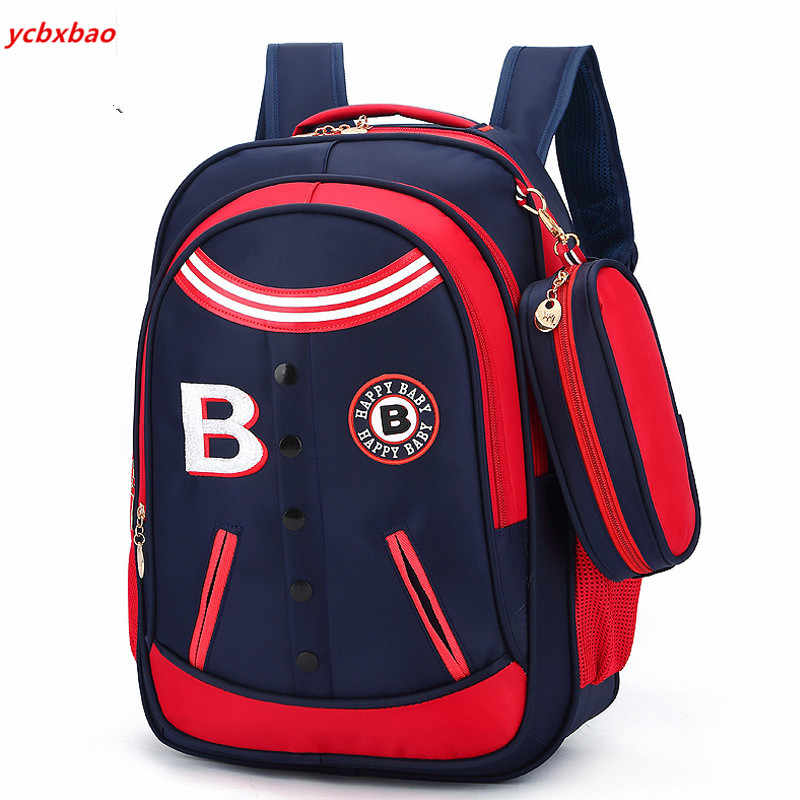 Orthopedic backpack Primary School Bags For Boys Girls Kids Travel Backpacks Waterproof Schoolbag Book Bag mochila infantil