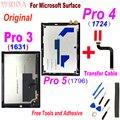 Оригинальный дисплей для Microsoft Surface Pro 3 Pro3 1631 v1.1 v1.0 LTL120QL01 003, ЖК-дисплей, кодирующий преобразователь сенсорного экрана в сборе