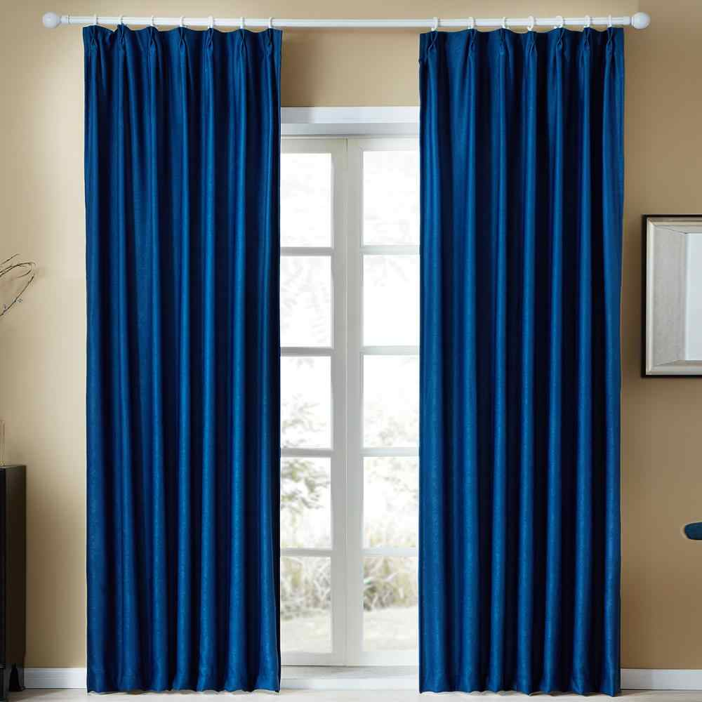 Topfinel Solid Velvet Modern Curtains for Living Room Bedroom Soft Comfortable Curtains Warm Night Diverse Colors Semi-Blackout