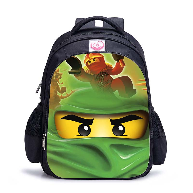 2020 Children School Bags Ninjago Game Schoolbag For Boy Backpack Game Printing Book Bag Backpack For Teenagers Sac A Dos Enfant
