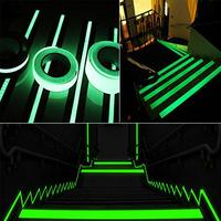 Frosted Surface Anti-Slip Tape Luminous In Dark Abrasive Tape Stairs Tread Step Safety Luminous Non-Slip Tapes