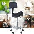Седло салон стул для красоты Парикмахерская поворотный стул парикмахерский массаж спа