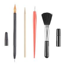 Diy desenho especial scratch arte ferramentas conjunto raspagem pintura raspador caneta