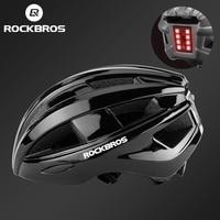 ROCKBROS Fahrrad Helm MTB Road Radfahren Hinten Licht Helme Integral geformten Sicherheit EPS + PC Ultraleicht Sport Urban Bike helm