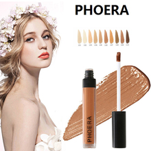 PHOERA Foundation Soft Matte Long Wear Oil Control Concealer Liquid Cream Fashion Womens Makeup Primer TSLM1