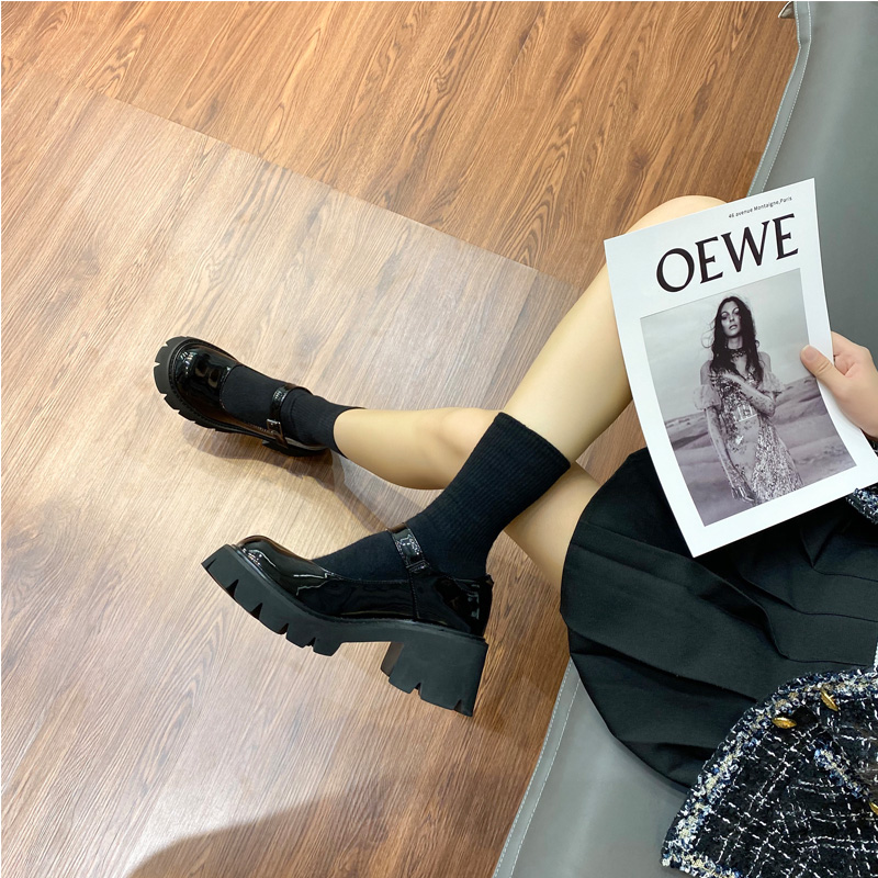 Кожаные туфли в японском стиле, универсальные туфли в студенческом стиле, униформа JK, в британском стиле колледжа, ретро, Туфли Мэри Джейн, весна|Туфли| | АлиЭкспресс