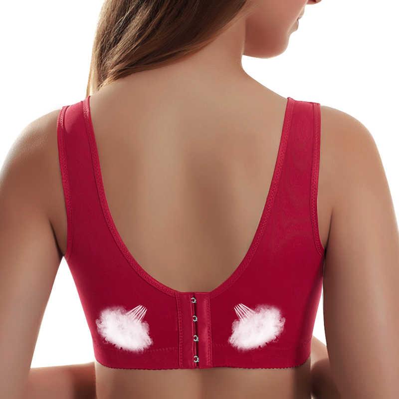 セクシーな薄型プッシュアップブラジャーフルカップ下着ワイヤー無料ブラジャー女性のための調整可能なレースの女性のブラジャー胸 Ropa インテリア Femenina