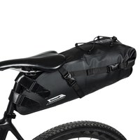 10L Bicycle Tail Seat Bag Pouch Mountain Road Cycling Bike Saddle Bag for Outdoor Riding