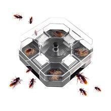 Сад эффективное тараканов ловушки коробка многоразовые тараканами средство Bug Roach Ловец от тараканов приманка для наживки ловушки пестицидов для Кухня