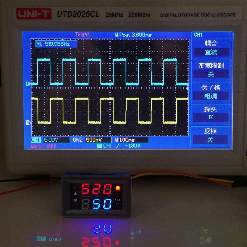 ШИМ генератор сигналов с одним импульсным частотным циклом Регулируемый