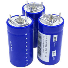 1Pc Component Capacitor 2.7V 350F 35x60mm Replace Blue For Maxwell Capacitor through Universal Orifice Accessories Electrical