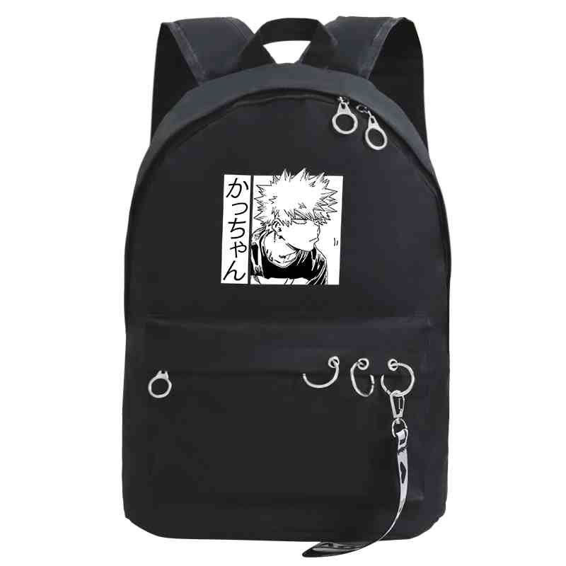 Boku No Hero Academia Backpack Girls Anime School Bags Japan Style Brand Schoolbag Harajuku Bookbag for Women Backpacks Femme