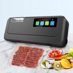 Бытовой вакуумный упаковщик ShineYe для сухой и влажной упаковки, устройство для вакуумной упаковки с 10 бесплатными вакуумными пакетами