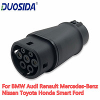 DUOSIDA EV Charger Type 1 to Type 2 EV Adapter J1772 Plug EVSE Adaptor ELectric Car Charger EV Charging Connector
