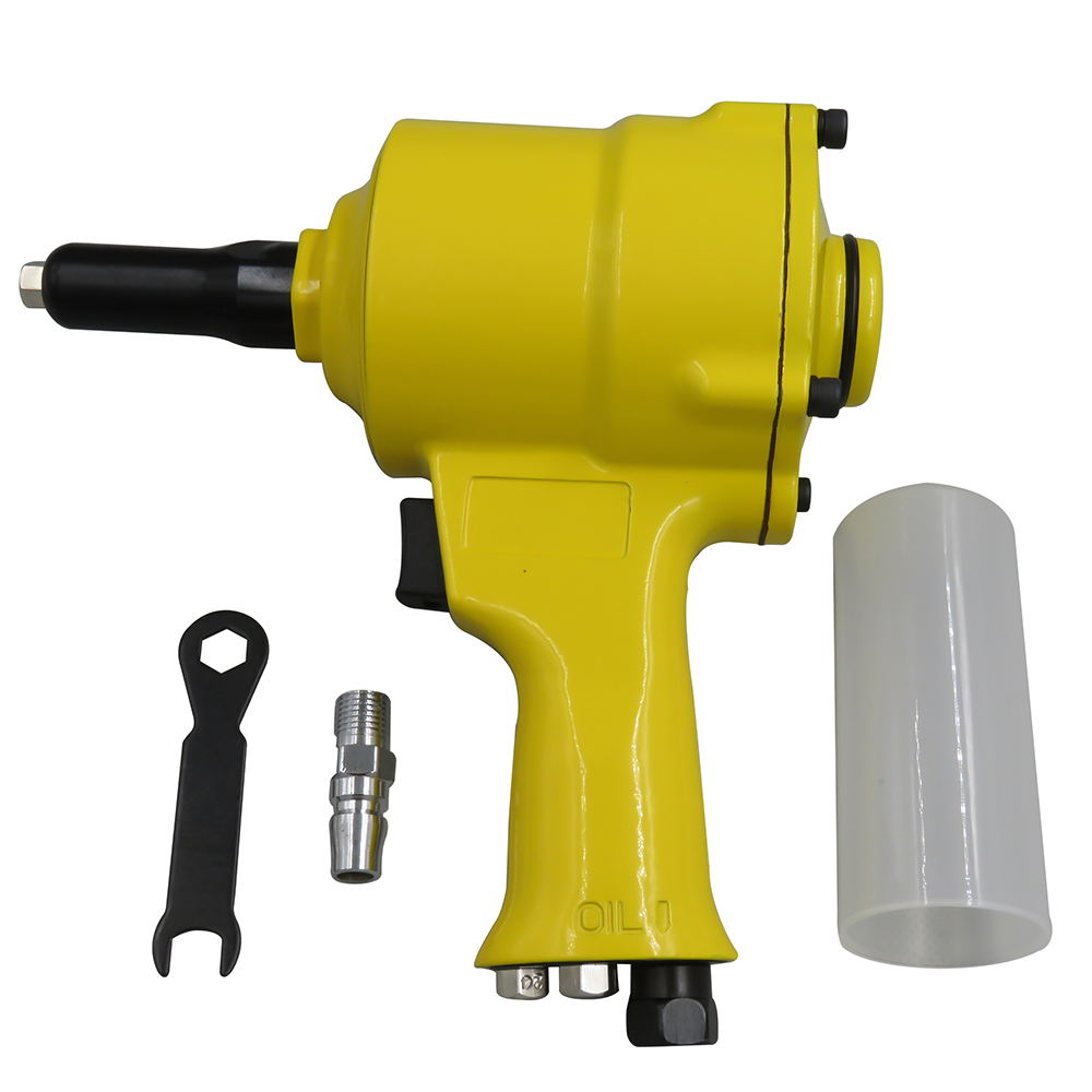 Pro Air Riveter Pneumatic Pistol Type Pop Rivet Gun Air Power Operated Riveter For Furniture Wood Sofa Woodworking