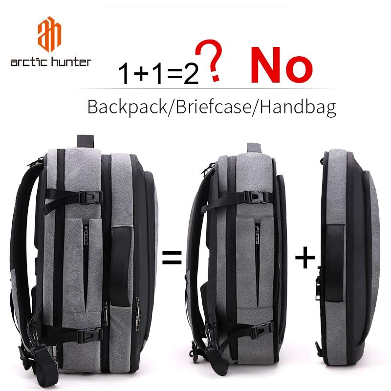 ARCTIC HUNTER Multifunction 17 inch Laptop Backpacks For Teenage Men Travel Backpack Bag Large Capacity Casual Vintage 2020 New