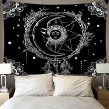 Звездный гобелен с Луной, настенный, таро, карта, полиэстер, Лев, луна, узор, одеяло, гобелен, домашний декор, астрология, покрывало, пляжный коврик