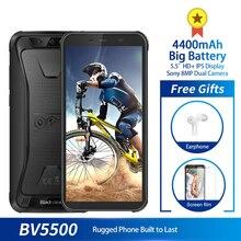 Blackview Mt6580 BV5500 IP68 Waterproof Mobile-Phone 16GB 2GB Dual Core 8mp Screen-4400mah