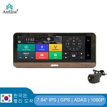 Anfilite E31 4G ADAS Автомобильная камера GPS Android 5,1 Автомобильные видеорегистраторы WIFI 1080P видеорегистратор DVR Мониторинг парковки