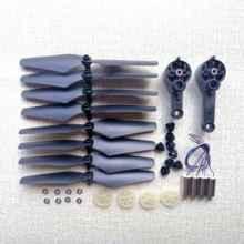 Motor propelller lâminas de engrenagem capa braço etc kit para ky601g gps drone dobrável rc quadcopter helicóptero peças reposição acessórios