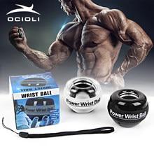 Gyroscope power ball antebraço exercitador de pulso braço força muscular exercício fortalecer treinador bola expansor carpal ginásio fitness