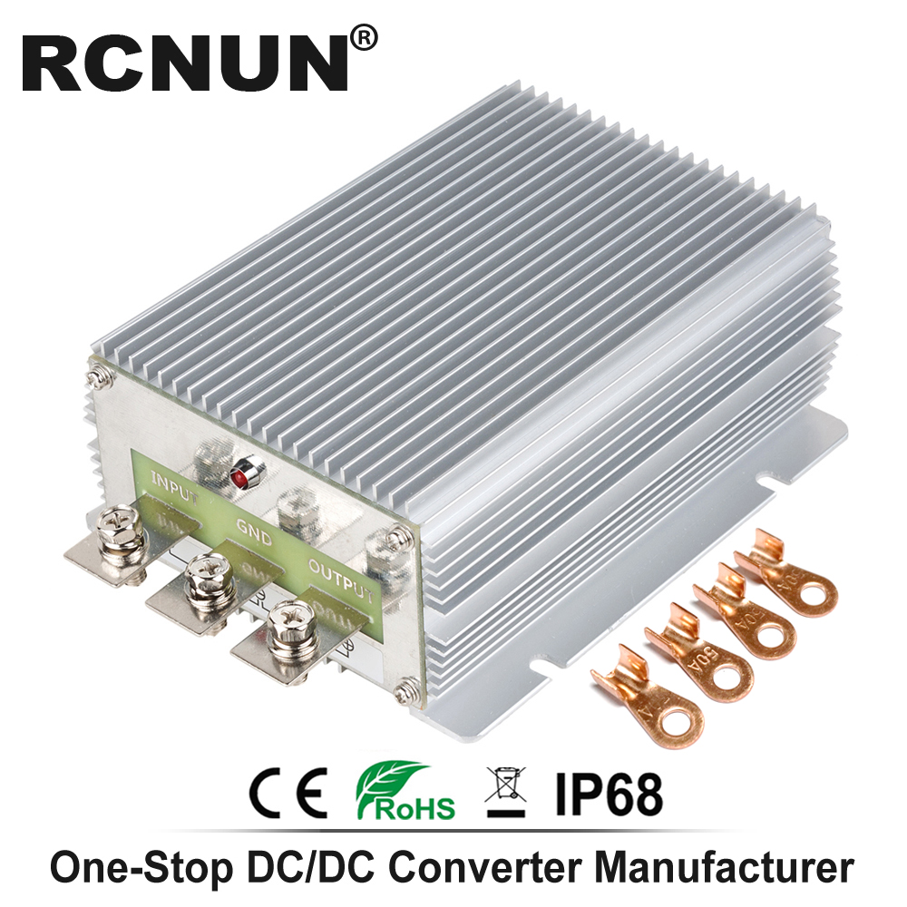 High Performance DC DC Boost Module 12V TO 24V 25A 30A 720W Step up DC DC Converter Boost Voltage Regulator for Cars Trucks-in Inverters & Converters from Home Improvement