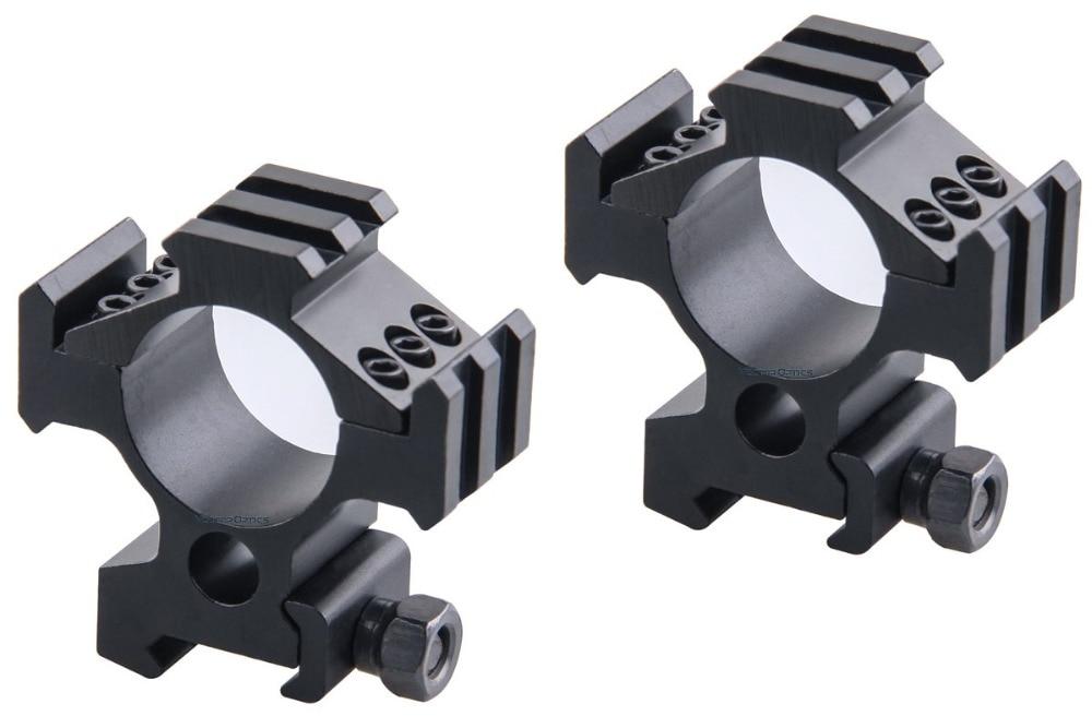 30mm Tactical Triple Rails Picatinny Mount Acom 1
