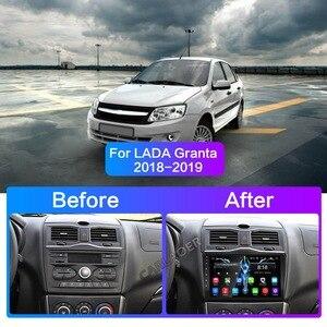 Image 5 - Araba Android 9 radyo LADA için ВАЗ Granta çapraz 2018 2019 GPS 2din multimedya Stereo Video oynatıcı 4G WIFI 2 din navigasyon GPS 64G