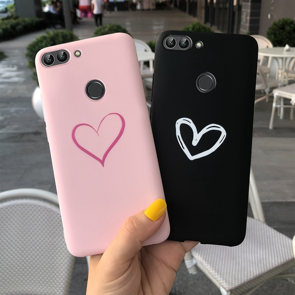 For Huawei <font><b>P</b></font> <font><b>Smart</b></font> Case Enjoy 7S Phone Back Cover Soft Silicone Case For Huawei <font><b>P</b></font> <font><b>Smart</b></font> 2018 FIG-LX1 <font><b>5.65inch</b></font> Case Coque Fundas image