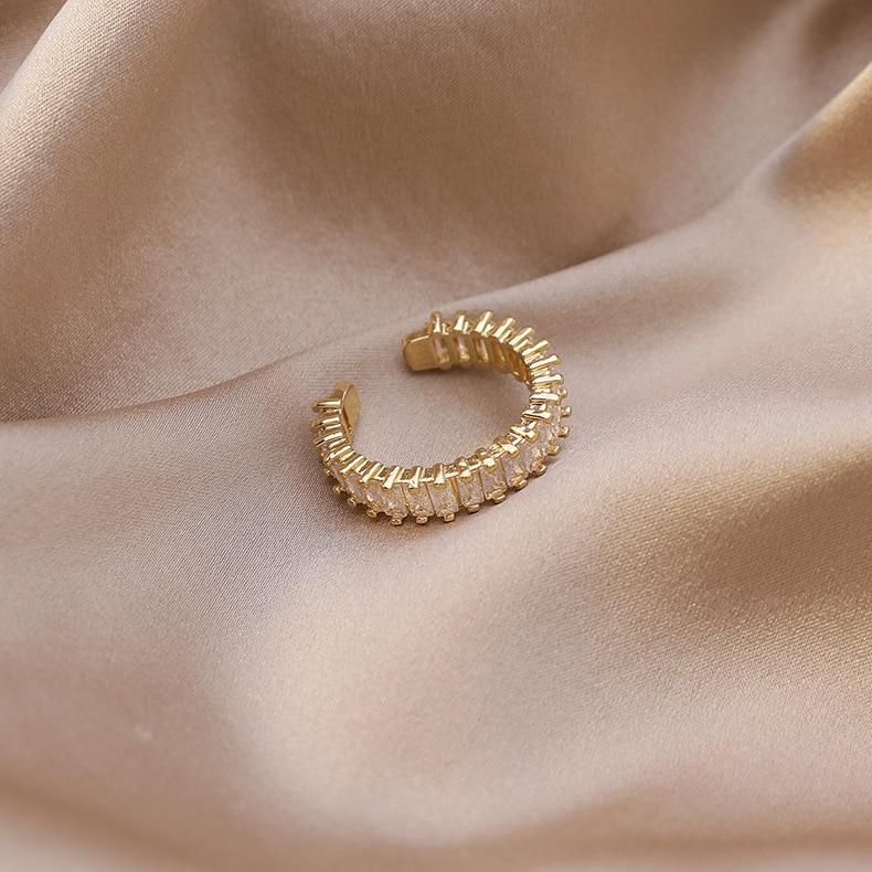 2020 Korean New Simple Temperament Index Finger Ring Exquisite Fashion Adjustable Ring Elegant Ladies Banquet Jewelry
