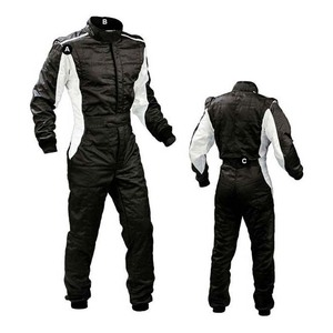 Image 3 - Personality bright color car kart racing suit and white light spot drift racing car cloth bike racers jackets