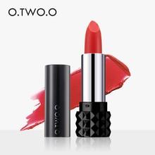 O.TWO.O Matte Lipstick Waterproof Velvet Lip Stick Sexy Red