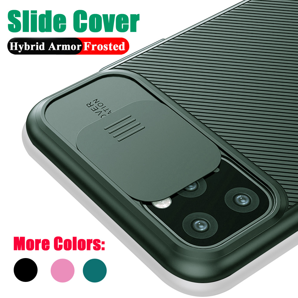 Camera protection Phone Case For iPhone 11 Pro Max XR X XS Max 7 8 6 6s Plus slide Soft Silicone Texture Shockproof Matte Cover image