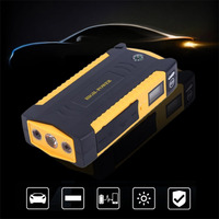 Portable 4USB jump staeter Port LCD Display Car Vehicle Auto Jump Starter Emergency Charger Booster Power Bank Battery Charger