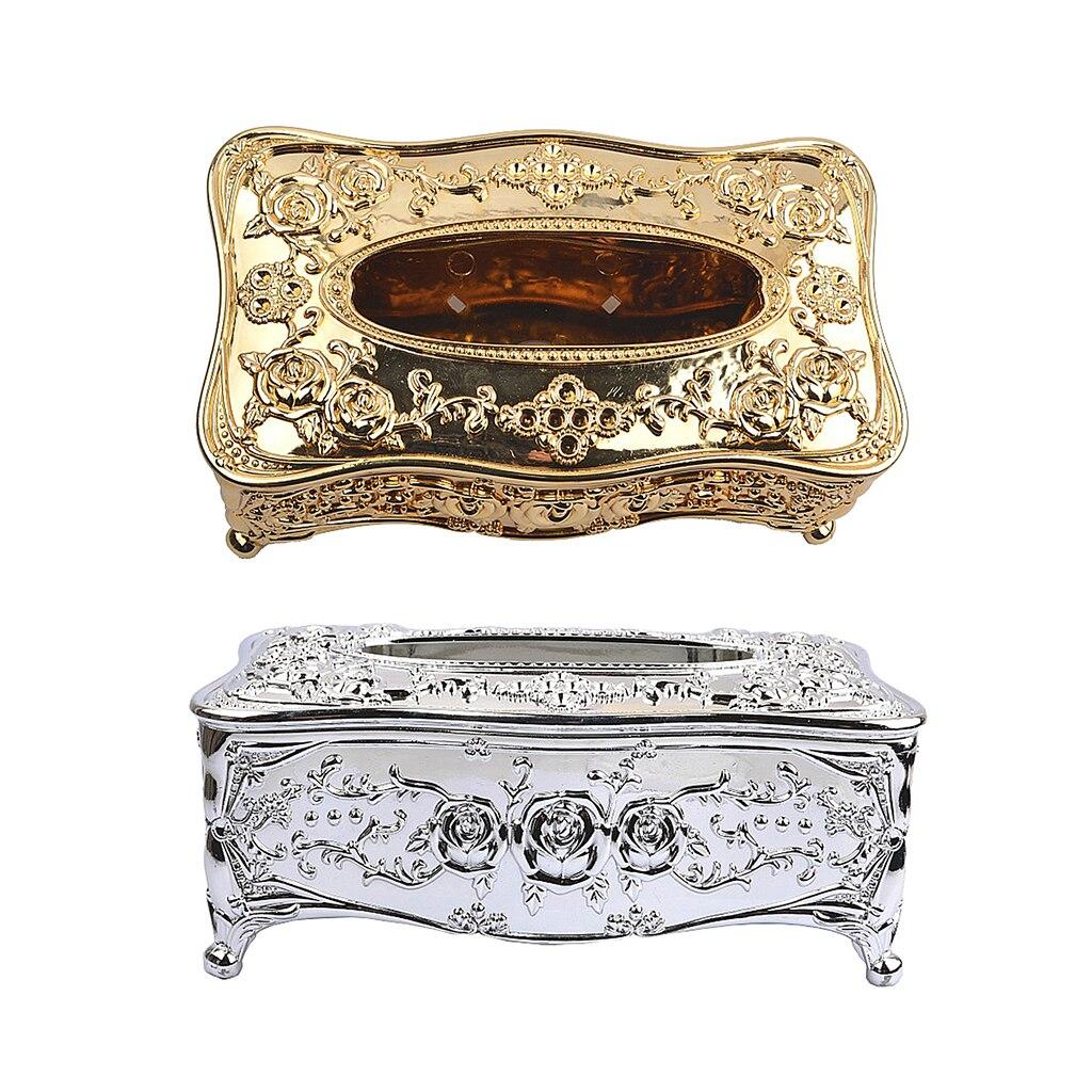 Ретро винтажная стильная тканевая коробка акриловая Салфетка