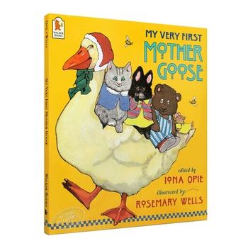 my very first mother goose English Original Manga Coloring Picture Book My Very First Mother Goose 0-3-6 Years Old Baby Early Education Enlightenment Book
