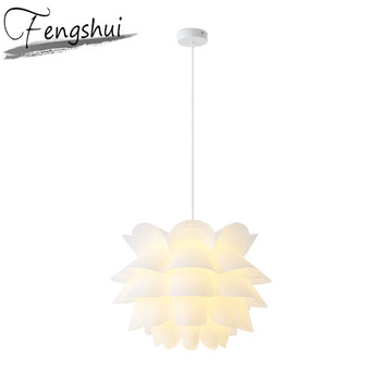 Nordic Led PVC Pendant Lights Modern Minimalist Living Room Dining Pendant Lamp Kitchen Fixtures Home Decor Hanging Lamp